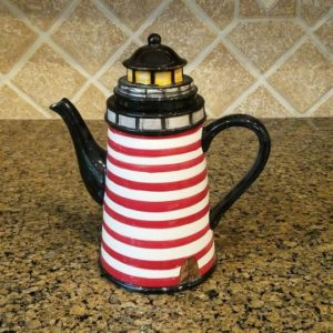 Beacon Lighthouse Teapot from Premier Homegoods site