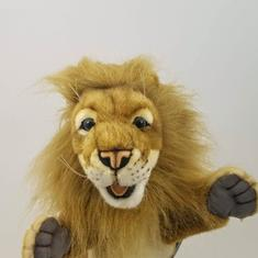 Leo Lion hand puppet from Premier Homegoods site